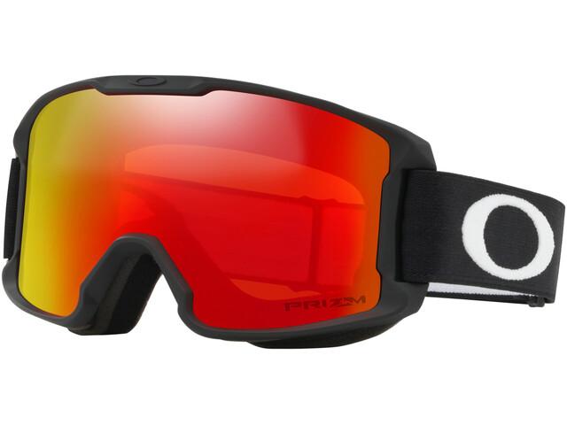 Oakley Line Miner Snow Goggles Kinder matte black/w prizm snow torch iridium